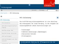 Kfz Zulassungsbehörde Nürnberg