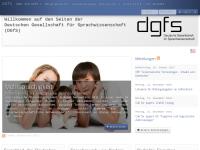 Deutsche Gesellschaft für Sprachwissenschaft (DGfS)