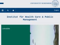 Institut für Health Care & Public Management der Universität Hohenheim