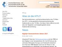 HTU HochschülerInnenschaft an der TU Wien