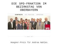 SPD Bezirkstagsfraktion Oberbayern
