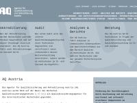 Agentur für Qualitätssicherung und Akkreditierung Austria
