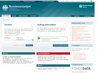 Bundesanzeiger Verlag und Deutscher Bundes-Verlag