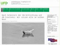 Unabhängige Flugbegleiter Organisation e.V. [UFO] - Gewerkschaft für die Kabinenbesatzungen in Deutschland